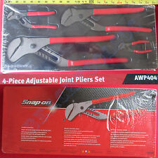 New Snap On 4 Pcs Adjustable Joint Pliers Set - AWP404 AWP45 AWP65 AWP120 AWP160