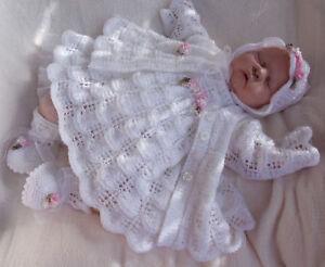 KNITTING PATTERN**TO MAKE MOONDANCE BABY/DOLL DRESS SET