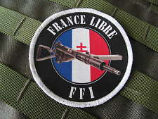 SNAKE PATCH ..:: FFI FRANCE LIBRE ::.. Sten WW2 jeep WH liner FTP libération