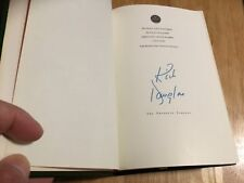(SSG) KIRK DOUGLAS Signed First Edition Franklin Library Book - (Easton Press)