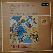 SXL 6065 Ravel / Honegger / Dukas / Ansermet 180g Alto FMS