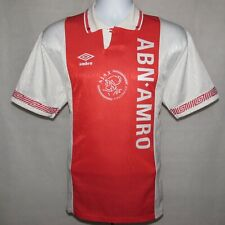 1991-1993 Ajax Home Football Shirt, Umbro, Large (Excellent Condition)