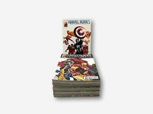 17 revues Marvel Heroes - Février 2011 à Juin 2012 - n° 1 à n° 17