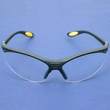 DeWALT Reinforcer Bifocal 2.5 Clear Lens Safety Glasses