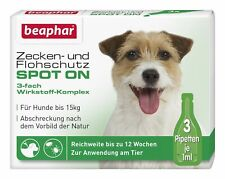 beaphar Bio Spot On 1ml Zecken- und Flohschutz - 3 Stück (13846)