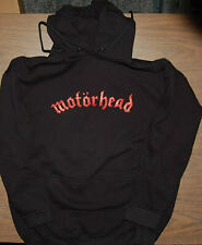 Hoodie - Motorhead - Warpig - Heavy Weight Sweatshirt - Black - logo / pig - NEW