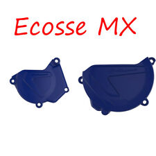 Yamaha YZ250 2000-2018 Polisport Ignition Cover Clutch Cover Blue