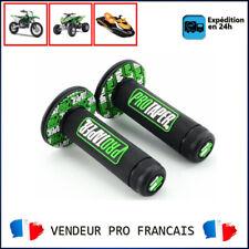 Paire de poignées ProTaper Noir & Vert Pour Moto Enduro Cross Quad Jet Ski