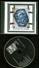 Metric Nut Stronger Than Sound CD private indie metal