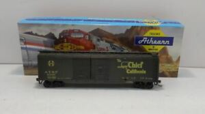 Athearn 2908I HO Scale AT&SF 50' Double Door Boxcar #10135/Box