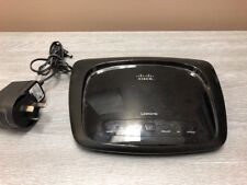 CISCO Linksys Wireless-N Home ADSL2+ Modem Router WAG120N