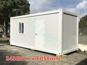 NEW Shipping Container Portable Office Site Shed Modular House Home Cabin Studio