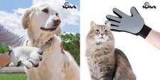 Handschuhbürste für Hunde und Katzen Massagebürste Silikon Fellpflege Bürste