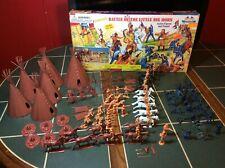 BATTLE OF THE LITTLE BIG HORN ACTION FIGURES & PLAYSET BMC Vintage Cowboys
