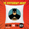Superhero Cushion Cover Pillowcase Kids Home Children Bed Sofa Decor Avengers