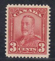 "Canada MINT OG Scott #151  3 cent dark carmine ""Scroll""   VF"