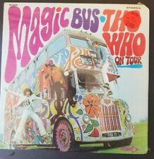 "Still Sealed !!,THE WHO- ""MAGIC BUS; THE WHO ON TOUR""- DECCA DL 75064 -STEREO"