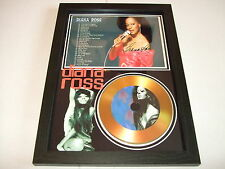 diana ross   SIGNED  GOLD CD  DISC