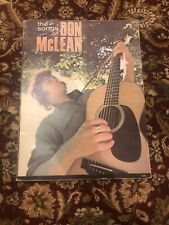 Vintage The Songs of Don McLean sheet music book-piano,vocal,chords- no tab