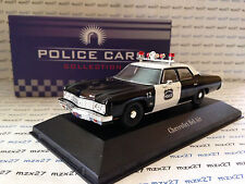 VOITURE POLICE CARS CHEVROLET BEL AIR  NORWICH USA  ATLAS 1/43 EME NEUF EN BOITE