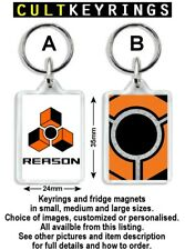 Reason keyring / fridge magnet - Propellerhead digital music editor