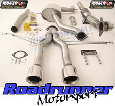 "Leon Cupra R Milltek Exhaust 2010 on 3"" Turbo Back & Cat Polish Tips SSXSE140"