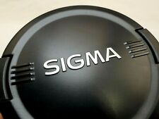 SIGMA 82mm Avant Lentille Casquette Snap On Type Authentique Original OEM Ex