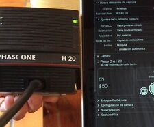Respaldo digital PHASE ONE H20 para Hasselblad V