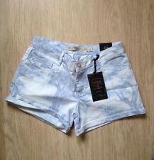 Zara Mid Rise Regular Size Polyester Shorts for Women