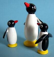 3er Set Pinguine Erzgebirge