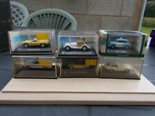 JOB LOT OF 6 ASSORTED 1/76  HONGWELL/OXFORD DIECAST CARS NO.1-/USED/MINT//BOXED/