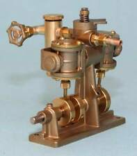 5009 Clyde Twin Cylinder Oscillating Model Steam Engine - Assembled - RC control