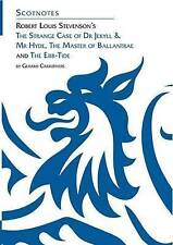 Robert Louis Stevenson's  The Strange Case of Dr Jekyll and Mr Hyde ,  The Master of Ballantrae  and  The Ebb-tide by Gerard Carruthers (Paperback, 2004)
