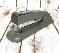 Vintage Swingline Stapler No 27 Gray Art Deco Style Blue Staples Inside Works
