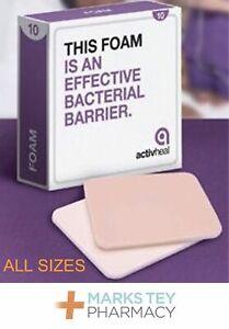 Activheal Foam Non-Adhesive Dressings