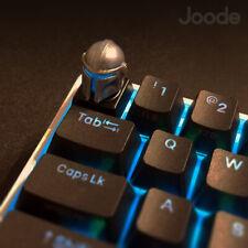 Star Wars Mandalorian LED Keycap Handmade Resin Custom Artisan