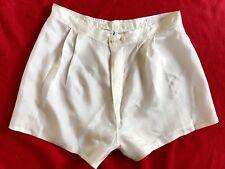 Vintage 1920s Tap Pants Shorts Cream Rayon Art Deco Burlesque Dancer 20s Flapper