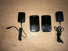 LOT OF 2 BLACKBERRY BOLD 9000 WiFi CAMERA QWERTY GPS 3G GSM GLOBAL ATT SMARTPHON