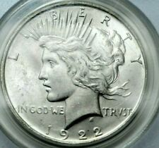 1922-D Peace Dollar PCGS MS63 OLD GREEN LABEL VAM HUGE DIE CRACK Silver $1 Coin!
