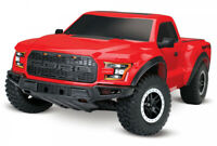 Traxxas Ford F-150 Raptor 2WD 1/10 RTR TQ Red with Batt/Charger