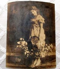 SILENT MOVIE STAR MARY PICKFORD EARLY STUDIO ORG HARTSOOR PHOTO-AUTOGRAPHED