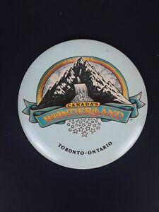 1980s Canadas Wonderland Pinback Button Baby Blue