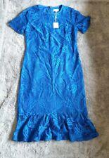 Vestido de Encaje para Mujer Azul siguiente BNWT SIZE UK 14