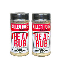 Killer Hogs All Purpose A.P. Rub Seasoning - 12 oz (2 Pack)