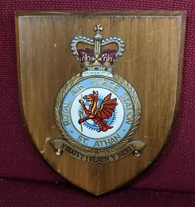 RAF Station St Athan Plaque/Shield