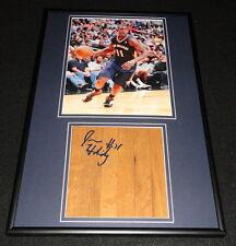 Jrue Holiday Signed Framed 12x18 Floorboard + Photo Display Pelicans UCLA