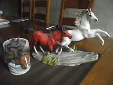 / LOT DECORATION CHEVAL  /