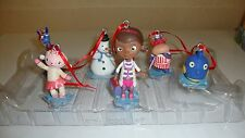 Disney Doc Mcstuffin 7 Piece Christmas Tree Ornament Set FREE SHIPPING