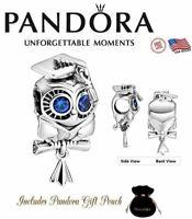 Authentic PANDORA S925 ALE Wise Owl 2021 Graduation Grad Diploma Charm 798907C01
