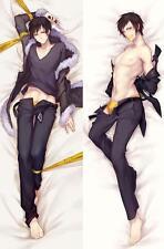 NEW Male Anime DuRaRaRa Orihara Izaya Dakimakura Hugging Body Pillow Case Cover